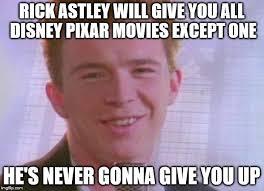 Rick Rolled Meme - rick astley memes imgflip