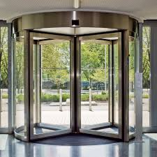 glass security doors dorma ktv secure u2013 revolving door system low energy high security