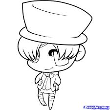 how to draw chibi ciel step by step chibis draw chibi anime