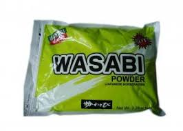 wasabi mustard japanese sushi wasabi seasoning powder green mustard sauce for