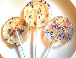 les fleurs comestibles en cuisine sucette fleur comestible 18 daily