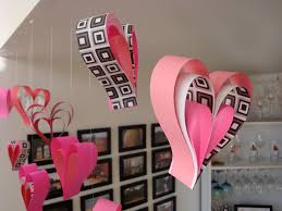 heart decorations paper heart decorations 1 460 days of