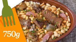 750g recette de cuisine recette du cassoulet maison 750 grammes