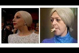 Lady Gaga Memes - lady gaga 眇una chica de limpieza en los oscar los mejores memes