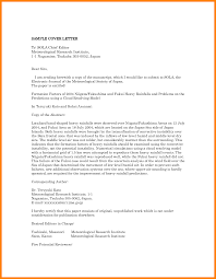 cover letter journal exle 28 images cover letter for journal