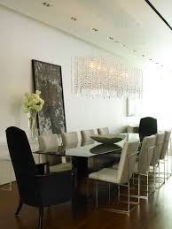 Dining Room Crystal Chandelier by Oval Crystal Chandelier Dining Room Contemporary With Glamor