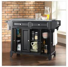 Movable Islands For Kitchen Debonair Kitchen Wooden Black Painted Kitchen Island Stool Set