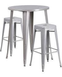 30 round bar table slash prices on flash furniture 3 piece 30 round metal bar table