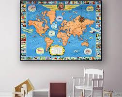 Retro Nursery Decor Retro Nursery Decor Etsy
