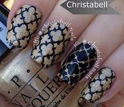 quatrefoil pattern nail art christabell nails nail art how to