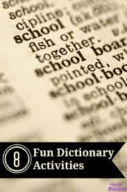 best 25 dictionary activities ideas on pinterest dictionary