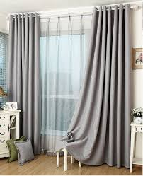 Half Height Curtains Slate Gray Blackout Curtain Insulation Curtain Custom Curtains