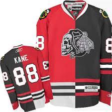 chicago blackhawks 88 patrick kane authentic jersey red black