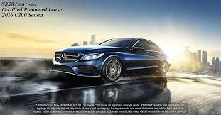 mercedes c300 lease specials 2016 mercedes c300 lease special for a certified preowned cpo c