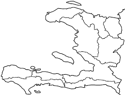 Blank Caribbean Map by Haiti Departments Blank U2022 Mapsof Net