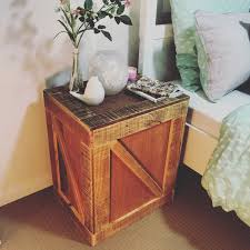 Pallet Furniture Side Table Remarkable Furniture Designs Made From Recycled Pallet Wood