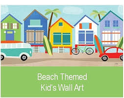 Wall Art For Kids Room by Fun In The Sun Beach Art For Kids Room Or Nursery Boothbay Register