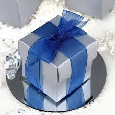 silver party favors matte silver 2 pcs favor boxes bridal shower party favor gift