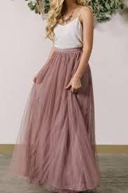 maxi skirt anabelle mauve tulle maxi skirt morning lavender