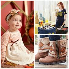 thanksgiving day clothes zulily deals college game day gear muk luks and kids