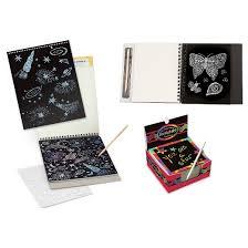 melissa u0026 doug scratch art bundle sketch pad doodle pad and