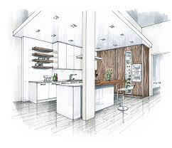 Kitchen Drawings Recent Renderings Summer 2014 Apartment Kitchen Architectural