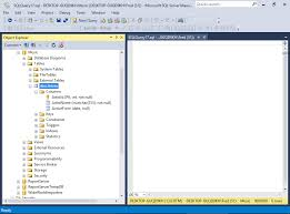 Sql Server Create Table Example Sql Server 2016 Create A Table