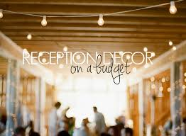 wedding reception ideas on a budget reception decor on a budget temple square