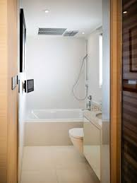 Modern Small Bathrooms Ideas by 4 Small Bathroom Designs With Shower Bathroom Ideas