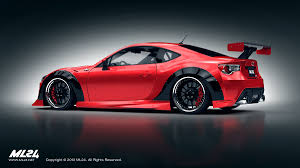 subaru brz body kit ml24 scion fr s auto crazed toyota lexus scion pinterest