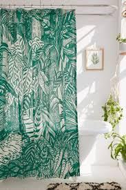 saskia pomeroy plants shower curtain urban outfitters