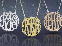 Monogrammed Sterling Silver Necklace Koonce U0026 Co Jewelers U2014 Monogram Sterling Silver Necklace
