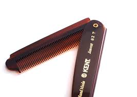 Sisir Kent kent 82t folding pocket comb if i were a boy