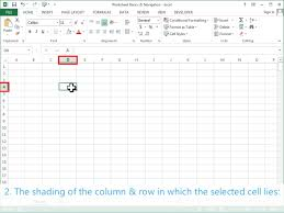 worksheet basics u0026 navigation excel 2013 tutorial