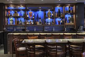 charming home basement bar designs with marble countertop and