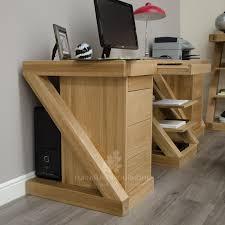 z solid oak designer large desk furniture4yourhome