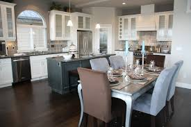 Kitchen Design With Granite Countertops by 35 Striking White Kitchens With Dark Wood Floors Pictures
