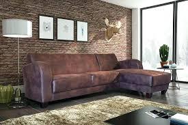 canapé marron canape microfibre vieilli canapac dangle de relaxation en