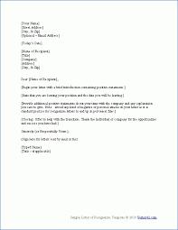 7 free template for resignation letter resignition letter