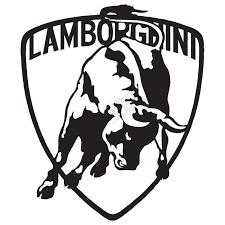lamborghini symbol drawing lamborghini logo vis alle stickers foliegejl dk