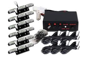 led strobe light kit custom auto safety products