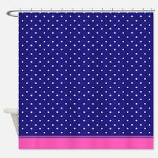 Navy And Pink Curtains Navy Blue And Pink Shower Curtains Cafepress