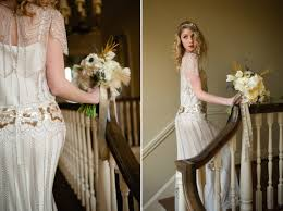 art nouveau wedding dress