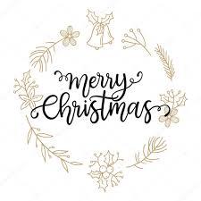 phrase merry christmas u2014 stock vector teploleta 122069182