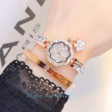 diamond bracelet women images Luxury women watches ladies diamond bracelet watch female rose jpg