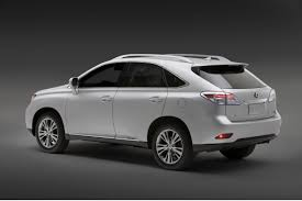 suv lexus 2010 lexus rolls out 2010 rx350 and rx450h at la show