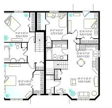 floor plans with in suite house plans with detached in suite enchanting house with
