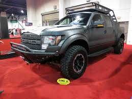 Ford Raptor Chase Truck - line x coated ford f 150 svt raptor of discovery channel u0027s storm