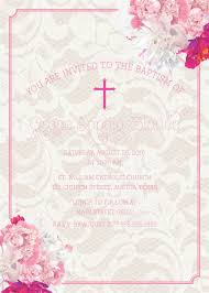 Sample Baptismal Invitation Cards Baptism Invitations In Spanish Wording Baptism Invitations