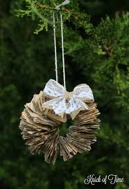 handmade christmas ornaments handmade christmas ornaments three to make in a day knick of time